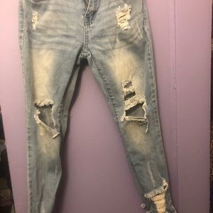 Chic Distressed girls' Jeans
